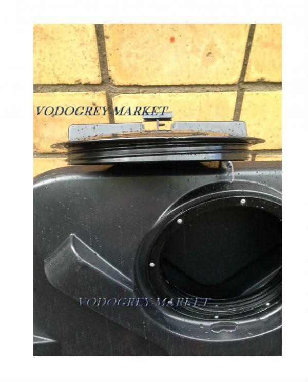 Интернет-магазин вДОМнаДАЧУ 7 - Бак для душа Rostok 110 л с лейкой.