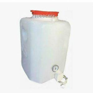 Интернет-магазин вДОМнаДАЧУ 11 - Бак для душа с подогревом 110 л с термометром и гибким шлангом.
