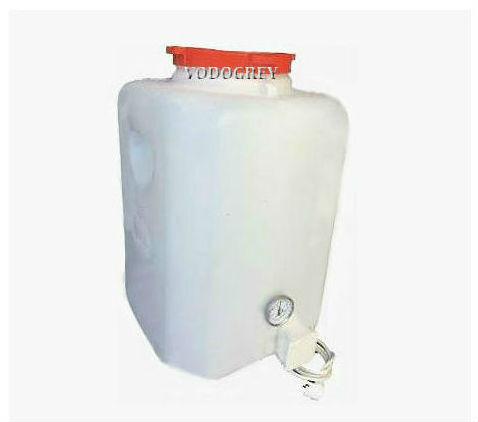 Интернет-магазин вДОМнаДАЧУ 1 - Бак для душа с подогревом 110 л с термометром и гибким шлангом.