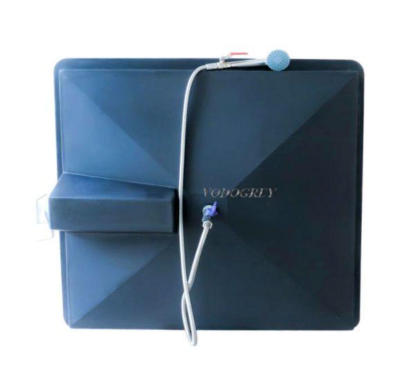 Интернет-магазин вДОМнаДАЧУ 1 - Бак для душа с подогревом 110 л с гибким шлангом.