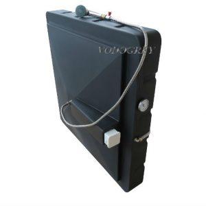 Интернет-магазин вДОМнаДАЧУ 14 - Бак для душа 150 л с подогревом ЛЮКС с гибким шлангом.