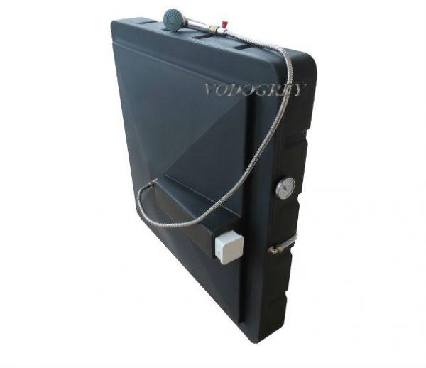 Интернет-магазин вДОМнаДАЧУ 1 - Бак для душа 150 л с подогревом ЛЮКС с гибким шлангом.