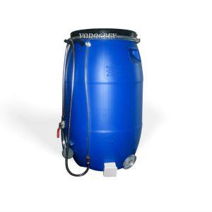 Интернет-магазин вДОМнаДАЧУ 48 - Бак для душа 65 литров ЛЮКС с водяным уровнем, термометром .