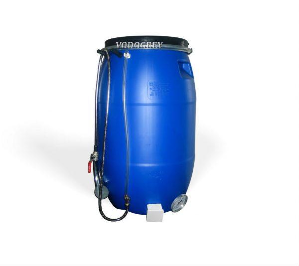 Интернет-магазин вДОМнаДАЧУ 1 - Бак для душа 65 литров ЛЮКС с водяным уровнем, термометром .