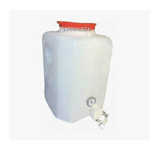 Интернет-магазин вДОМнаДАЧУ 1 - Бак для душа с подогревом 90 л с термометром и гибким шлангом.