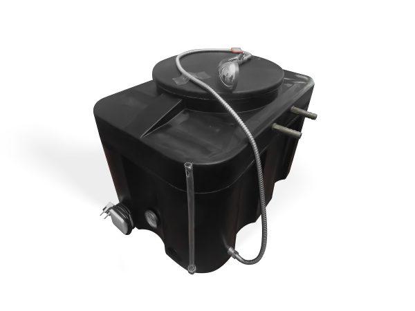 Интернет-магазин вДОМнаДАЧУ 3 - Бак для душа ЭВН 150 л Люкс с гибким шлангом.