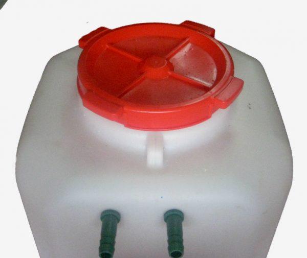 Интернет-магазин вДОМнаДАЧУ 2 - Бак для душа с подогревом 110 л с термометром и гибким шлангом.
